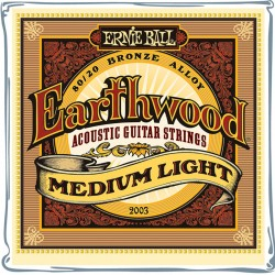 ERNIE BALL 2003 ML EARTHWOOD BRONZE JUEGO CUERDAS ACUSTICA 012-054