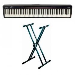 ROLAND -PACK- FP10BK PIANO DIGITAL CON SOPORTE TIJERA