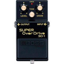 BOSS SD1 4A 40 ANIVERSARIO PEDAL SUPER DRIVE. NOVEDAD