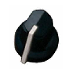 FENDER 0990932000 AMP KNOB BLK POINTER (PKG 6).