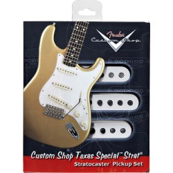 FENDER 0992111000 CUSTOM SHOP STRATOCASTER PICKUPS TEXAS SPECIAL STRATOCASTER SET (3)