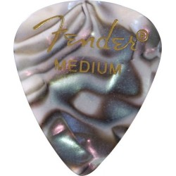 FENDER 0980351857 351 PUAS PREMIUM CELLULOID (12) ABALONE MEDIUM.