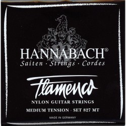 HANNABACH 8271MT FLAMENCO BLACK CUERDA 1 GUITARRA FLAMENCA