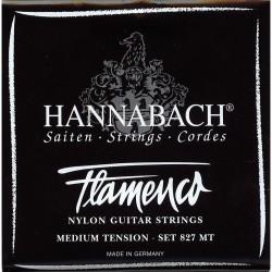 HANNABACH 8275MT FLAMENCO BLACK CUERDA 5 GUITARRA FLAMENCA