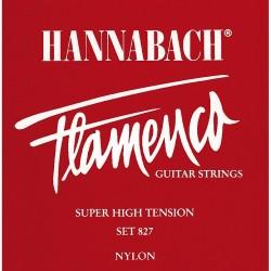 HANNABACH 8275SHT 5ª CUERDA GUITARRA FLAMENCA ROJA
