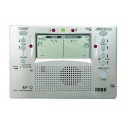 KORG TM40 METRONOMO AFINADOR DIGITAL.