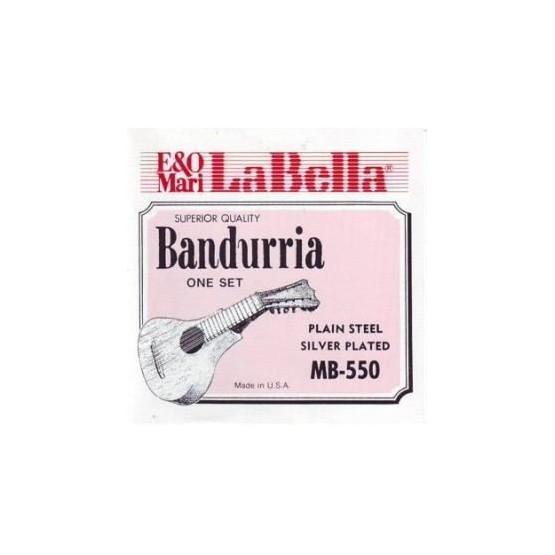 LA BELLA MB551 1ª CUERDA DOBLE BANDURRRIA