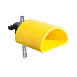 LATIN PERCUSSION LP1305 BLAST BLOCK HIGH PITCH YELLOW