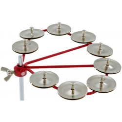 LATIN PERCUSSION LP191 CYCLOPS JINGLE RING STEEL JINGLES