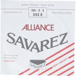 SAVAREZ 543 R 3ª CUERDA ALLIANCE GUITARRA ESPAÑOLA