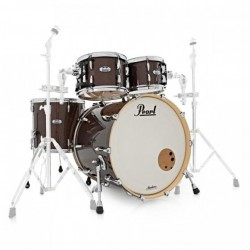 PEARL MCT904XEP C329 MASTER MAPLE COMPLETE BATERIA ACUSTICA BURNISHED BRONZE SPARKLE DEMO.