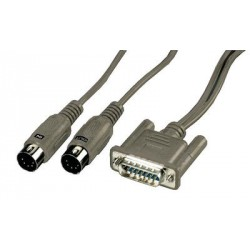 MONACOR MIDI300PC CABLE MIDI.