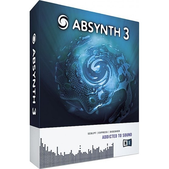 NATIVE INSTRUMENTS ABSYNTH 3 SOFTWARE SINTETIZADOR .
