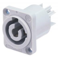 NEUTRIK NAC3MPB CONECTOR POWERCON CHASIS GRIS