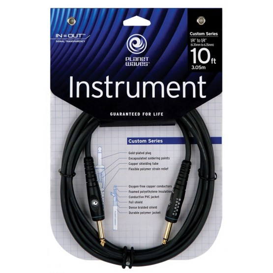 PLANET WAVES G15 CABLE GUITARRA 4,5M 2 JACK MONO