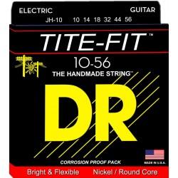 DR JH10 TITE FIT JUEGO CUERDAS GUITARRA ELECTRICA 010-056.