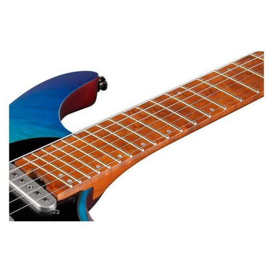IBANEZ QX54QM BSM GUITARRA ELECTRICA BLUE SPHERE BURST MATTE. NOVEDAD