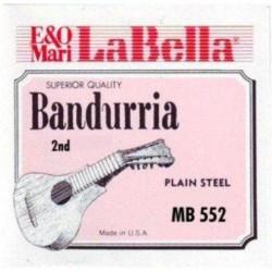 LA BELLA MB552 2ª CUERDA DOBLE BANDURRIA