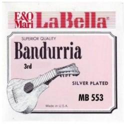 LA BELLA MB553 CUERDA 3 DOBLE BANDURRIA
