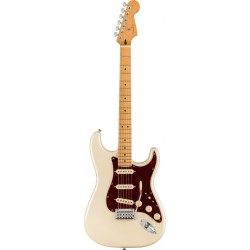 FENDER PLAYER PLUS STRATOCASTER MN GUITARRA ELECTRICA OLYMPIC PEARL. NOVEDAD