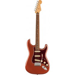 FENDER PLAYER PLUS STRATOCASTER PF GUITARRA ELECTRICA AGED CANDY APPLE RED. NOVEDAD