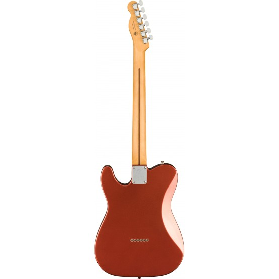 FENDER PLAYER PLUS TELECASTER MN GUITARRA ELECTRICA AGED CANDY APPLE RED. NOVEDAD