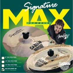 SABIAN MP5002 MIKE PORTNOY MAX SPLASH SET 7 9 11 JUEGO PLATOS BATERIA. DEMO.
