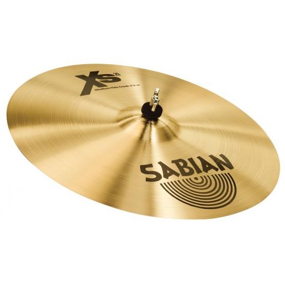 SABIAN XS1607B XS20 MEDIUM THIN CRASH 16 PLATO BATERIA. DEMO.
