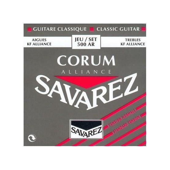 SAVAREZ 500 AR CORUM ALLIANCE JUEGO CUERDAS GUITARRA ESPAÑOLA