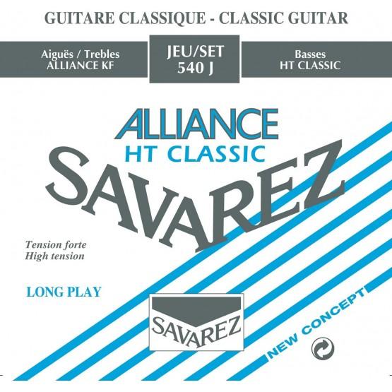 SAVAREZ 540 J XHT JUEGO CUERDAS ALLIANCE AZUL GUITARRA ESPAÑOLA