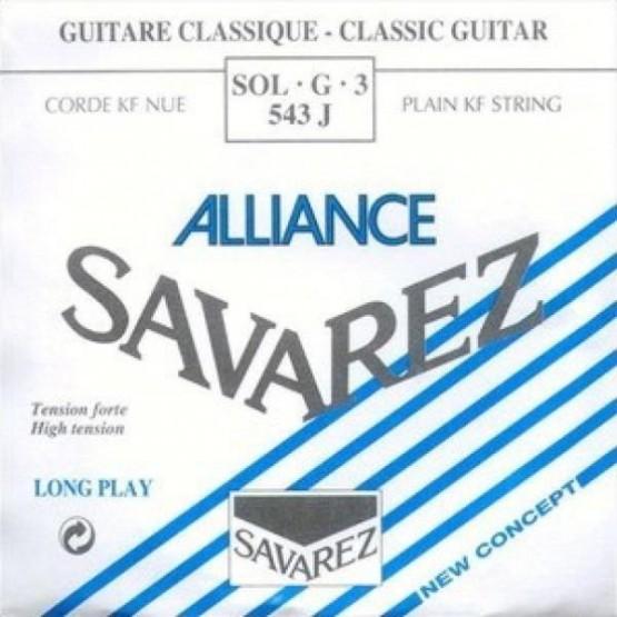 SAVAREZ 543 J XHT 3ª CUERDA ALLIANCE AZUL GUITARRA ESPAÑOLA