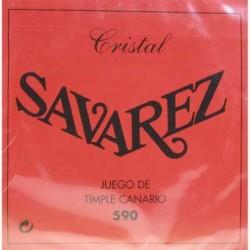 SAVAREZ 590 CRISTAL JUEGO CUERDAS TIMPLE