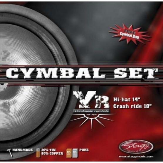 STAGG YR753 SET SET CYMBAL HI HAT 14+CR.16+RIDE20