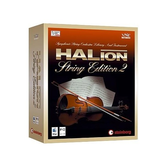 STEINBERG HALION STRING EDIT INSTRUMENTO VIRTUAL.