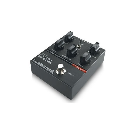 TC ELECTRONIC CLASSIC BOOSTER DISTORTION PEDAL.
