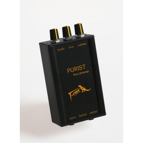 T-REX THE PURIST PREVIO PEDAL BAJO.
