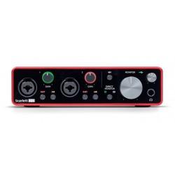 FOCUSRITE SCARLETT 2I2 3RD GENERATION INTERFAZ DE AUDIO USB
