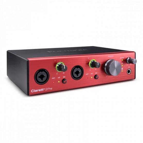 FOCUSRITE CLARETT+2 PRE INTERFAZ DE AUDIO USB. NOVEDAD