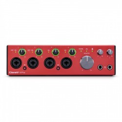 FOCUSRITE CLARETT+4 PRE INTERFAZ DE AUDIO USB. NOVEDAD
