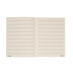 DADDARIO B12S48 CUADERNO MUSICA ESPIRAL 12 PENTAGRAMAS 48 PAGINAS
