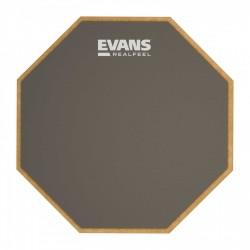 EVANS RF12D REAL FEEL PAD PRACTICAS 2 CARAS STANDARD