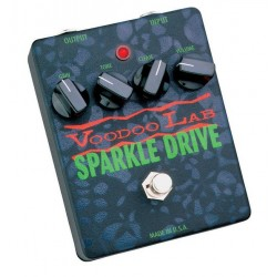 VOODOO LAB SPARKLE DRIVE PEDAL OVERDRIVE. DEMO.