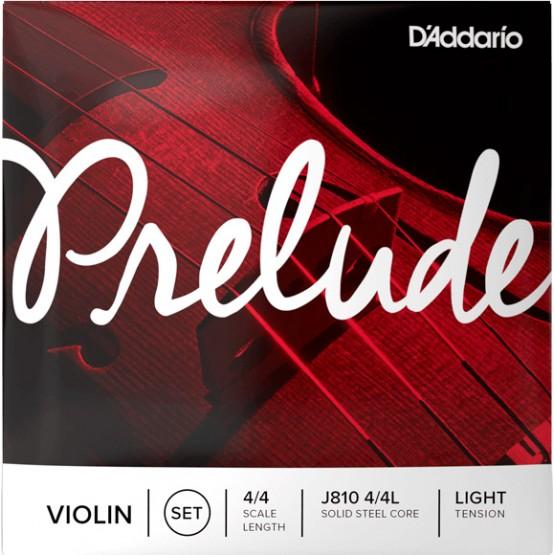 DADDARIO J810L 4/4 PRELUDE JUEGO CUERDAS VIOLIN