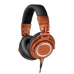 AUDIO TECHNICA ATHM50XMO AURICULARES PROFESIONALES DE ESTUDIO METALLIC ORANGE. NOVEDAD