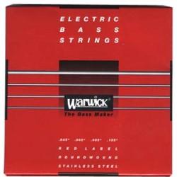 WARWICK 42200 RED JUEGO 4 CUERDAS BAJO 045-105