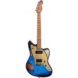 PAOLETTI GUITARS 112 LOFT HP90 RMN GUITARRA ELECTRICA HEAVY DEEP BLUE