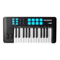 ALESIS V25 MKII TECLADO CONTROLADOR MIDI USB 25 TECLAS. NOVEDAD