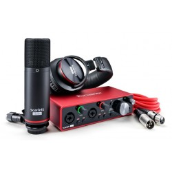 FOCUSRITE SCARLETT 2I2 STUDIO 3RD GENERATION INTERFAZ DE AUDIO USB