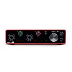 FOCUSRITE SCARLETT 4I4 3RD GENERATION INTERFAZ DE AUDIO USB