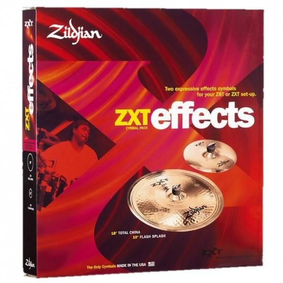 ZILDJIAN ZXT EFFECTS+2 JUEGO PLATOS BATERIA.